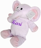 Personalized Plush Purple Elle Elephant
