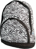 Kid's Quilted Backpack - Zebra