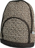 Kid's Quilted Backpack - Leopard