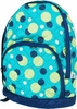 Kid's Quilted Backpack - Aqua Dot