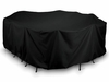 "144"" Oval/Rectangular Table Cover"