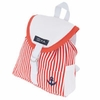 Puppy Angel Ahoy Capt  Backpack - Red