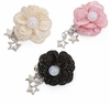Sparkling Star Flower Puppy Bow