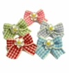 Gingham Flower Hair Bands