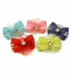 Voile Crystal Puppy Hair Bands