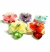 Flower Heart Drop Hair Bands