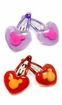 Mickey Heart Puppy Hair Clips
