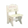 Kid's Time Out Chair - Crackle Finish