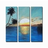Sunrise in Paradise Canvas Art