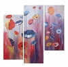 Untamed Poppies Canvas Art