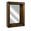 Paez Copper Plated Shadow Box Mirror