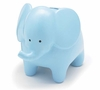 Baby's Blue Elephant Piggy Bank