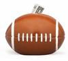 Ceramic Football Piggy Bank