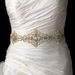 * Stunning Modern Vintage Wedding Sash Bridal Belt 19