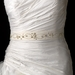 Beaded & Rhinestone Accented Wedding Sash Bridal Belt 2