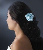 Elegant Light Blue Rose BQ 9848