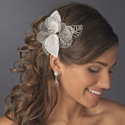 Beautiful Vintage Bridal Hair Comb 592