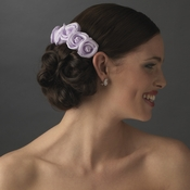 Charming Lilac Flower Bridal Hair Comb 4647