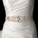 * Pearls, Rhinestones & Beaded Wedding Sash Bridal Belt 3