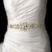Crystals, Beads & Rhinestone Accented Wedding Sash Bridal Belt 4