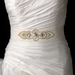* Pearl & Rhinestone Accented Wedding Sash Bridal Belt 8