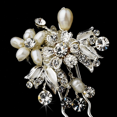 Hair Pin 5858 Silver or Gold