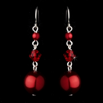 Earring 8355 Red