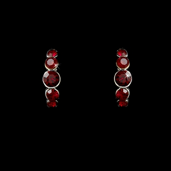 * Earring 20339 Red