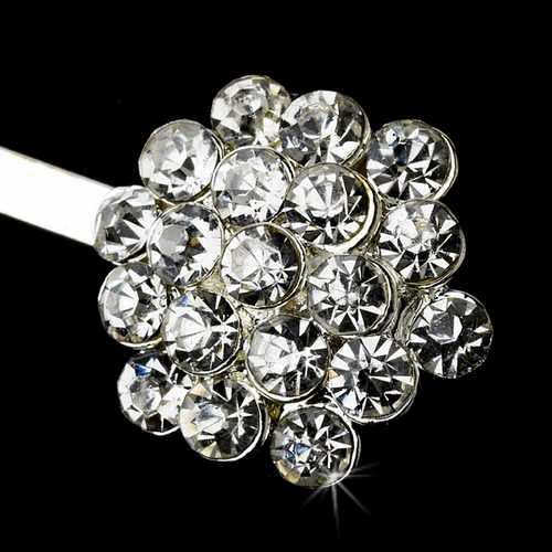 Simple and Stunning Rhinestone Cluster Hair Pin-40***Discontinued***