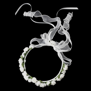 Kate Middleton Flower Girl Wreath Headpiece 3000