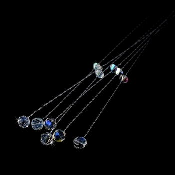 Crystal Bouquet Jewelry BQ 206 ( Sold as a Set of 6 )