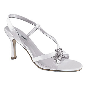 Dazzle Dyeable Bridal Wedding Shoes 5003