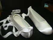 Adult Dyeable Bridal Wedding Ballet Shoes 630 Ribbon