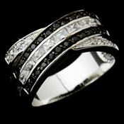 Black Accented Rings