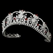 Red Accented Tiaras
