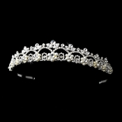 * White Pearl Bridal Tiara HP 2010