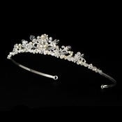 Freshwater Pearl and Swarovski Crystal Tiara HP 7052***Only 1 Left****