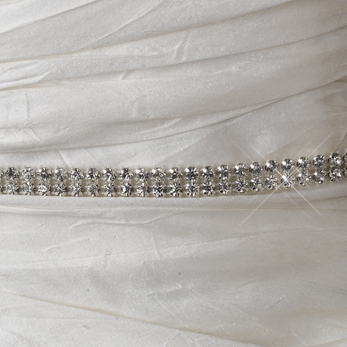 2 Rhinestone Rhinestone Mesh Ribbon (5 Yards Per Roll)