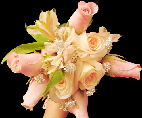 Sparkling Bouquet Crystal Clusters (Sold in Sets of 2)