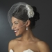 Elegant Bridal Hair Clip Pair - Clip 404 with Brooch Pin