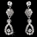Necklace Earring Set 8453 Silver Clear***Discontinued***