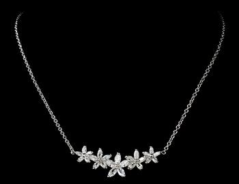 Necklace 2689 Silver Clear