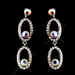 * Silver Clear AB Necklace Earring Set 8533