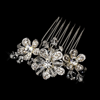 Silver Clear Pin 8983