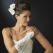 Embroidered Fingerless Bridal Gloves GL 8001 E