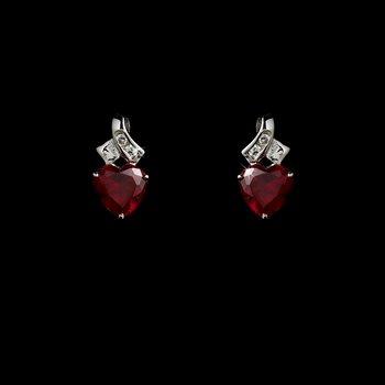 Earring 3766 Red