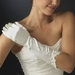 Victorian Lace Trimmed Bridal Gloves GL9052-8E