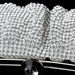 Silver Clear Crystal Evening Bag 331
