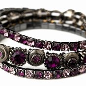 Shades of Purple Bracelets