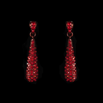 * Earring 8341 Red